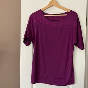 Purple shirt from The Limited